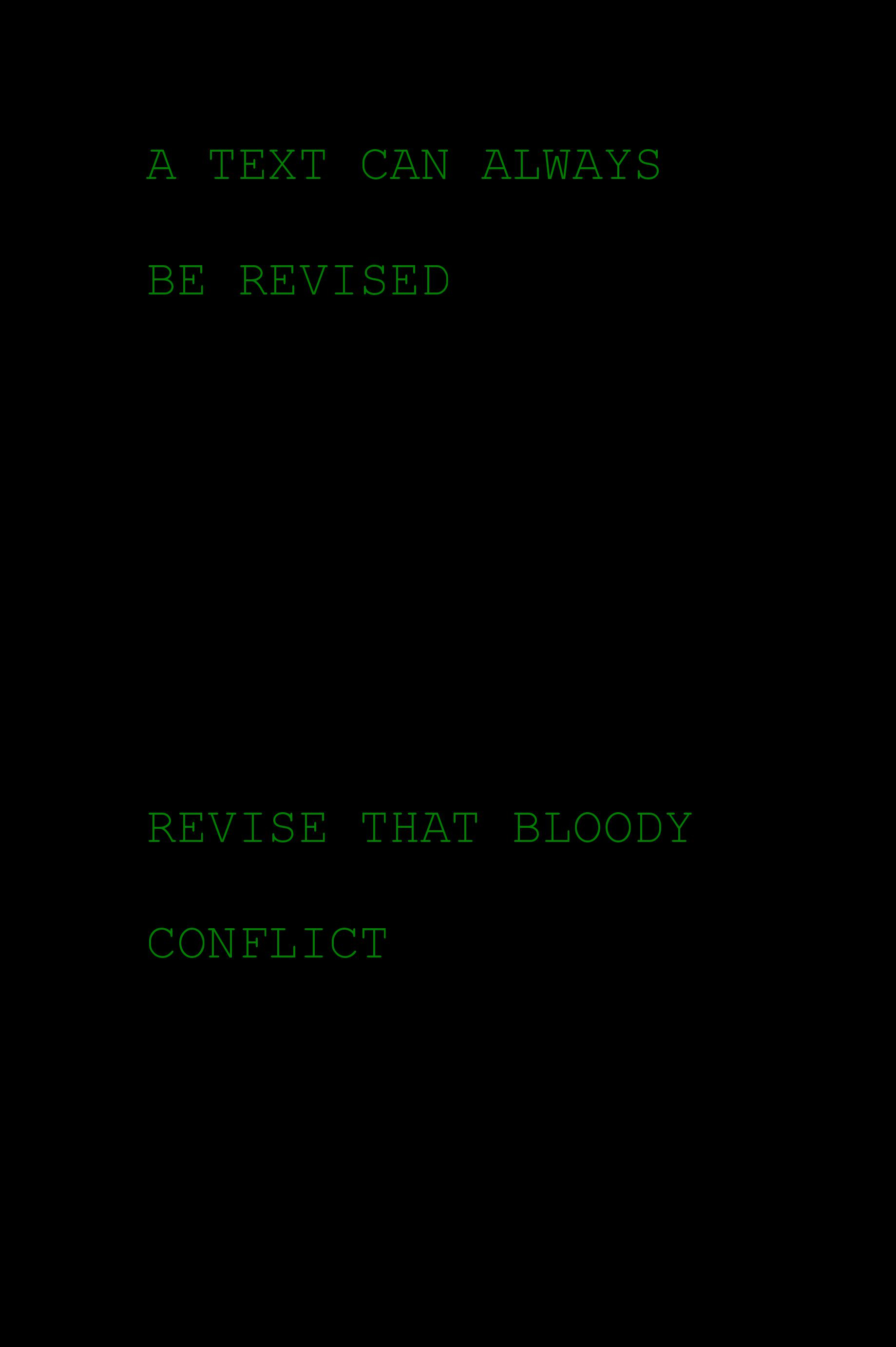 Revised Revise