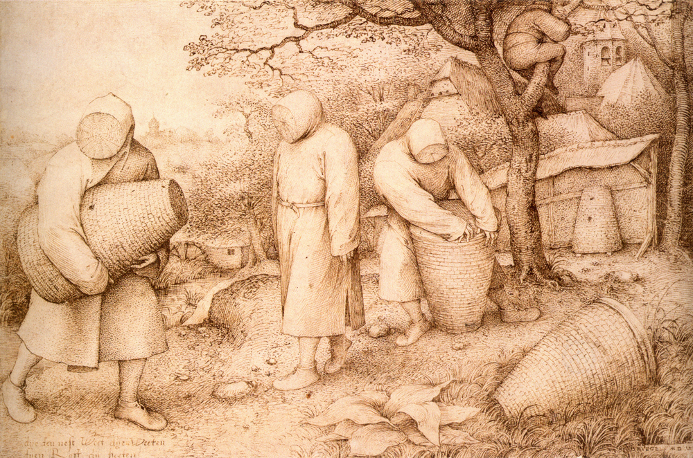 Pieter Bruegel the Elder, The Beekeepers, c. 1568.