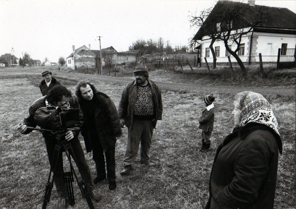 Ulrich Seidl filming Losses To Be Expected, 1992